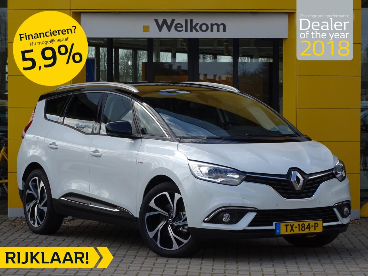Renault Grand scénic 1.5 dci 110pk edc/aut.6 bose 7-persoons