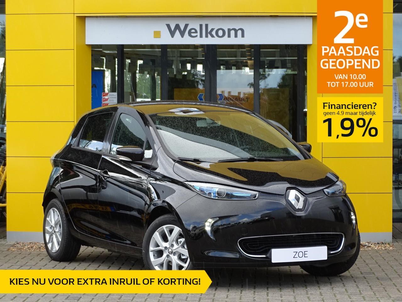 Renault Zoe R110 limited z.e. 40 normaal rijklaar 27.795- nu rijklaar 26.295,- + gratis laadpaal of greenflux laadpas