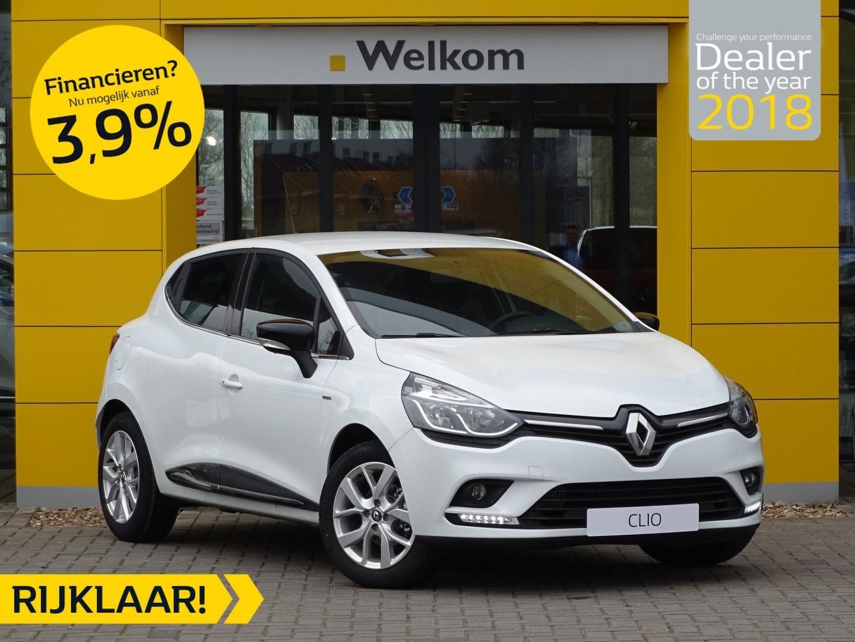 Renault Clio Tce 90pk limited normaal rijklaar € 19.190,- nu rijklaar € 16.785,-
