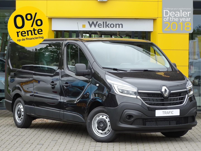 Renault Trafic 2.0 dci 145pk l2h1 dubbele cabine comfort abd actie van 31.950,- voor 24.250,-