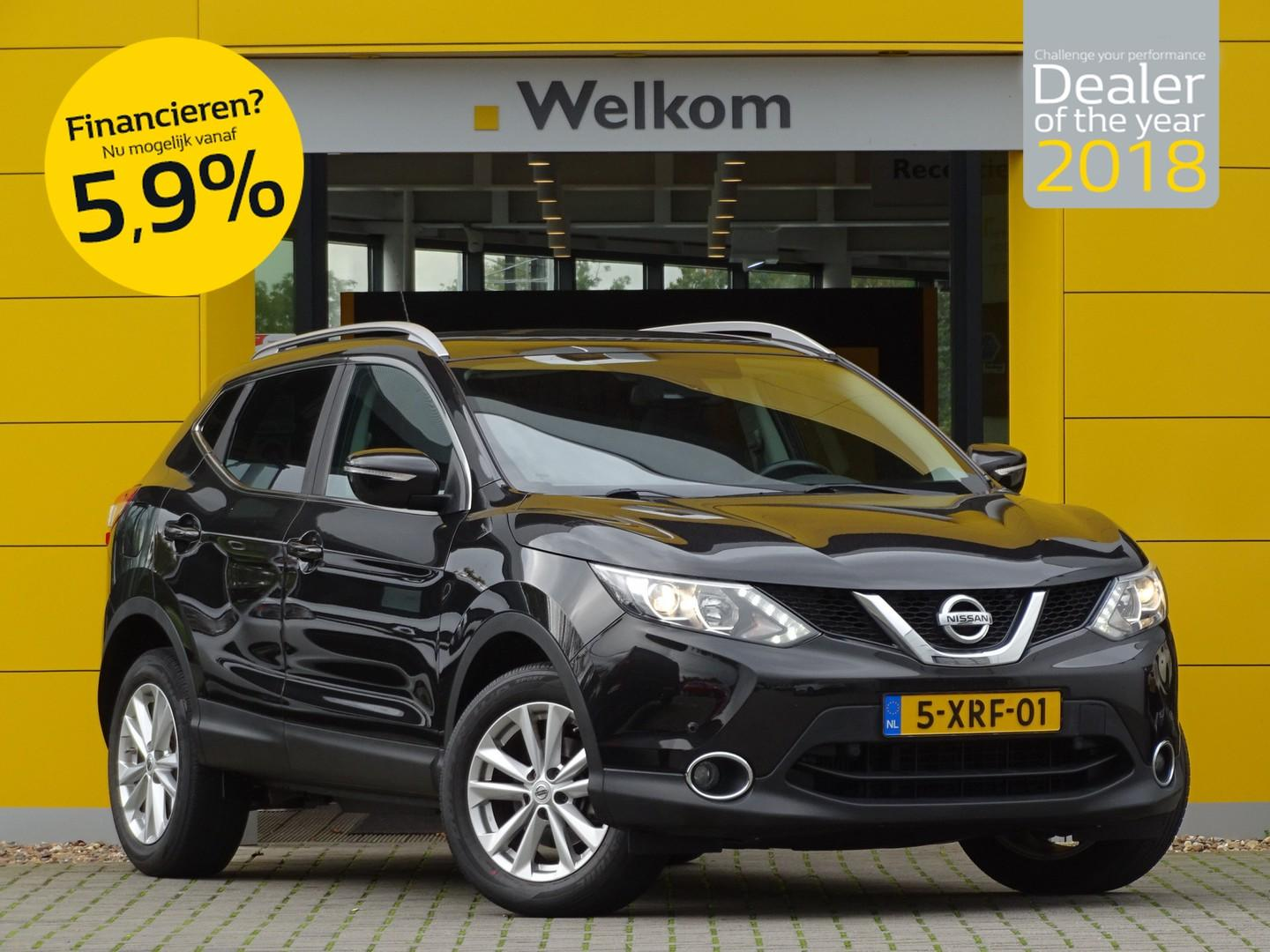 Nissan Qashqai 1.5 dci 110pk connect edition
