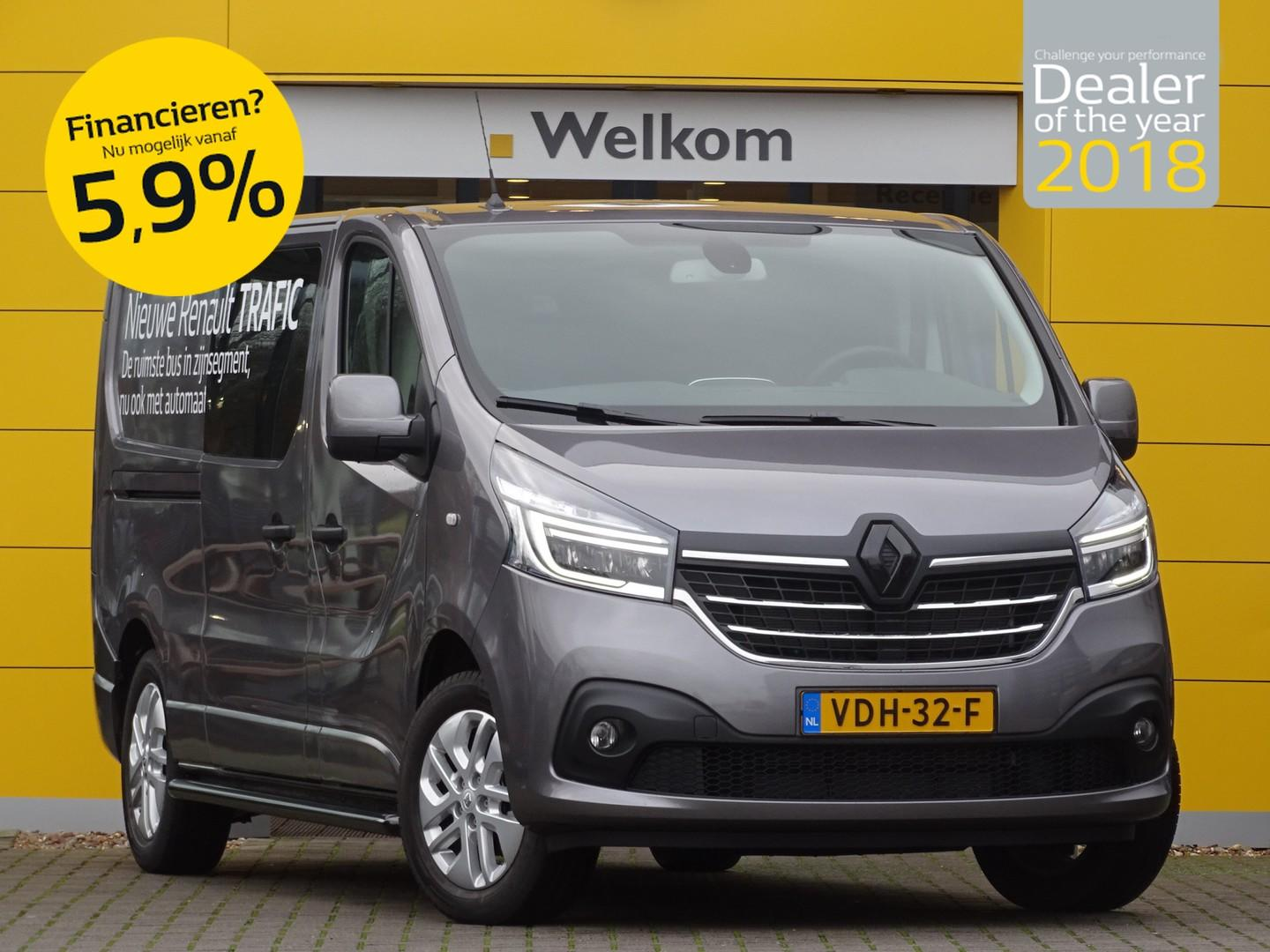 Renault Trafic 2.0 dci edc/automaat 170 t29 l2h1 dc luxe