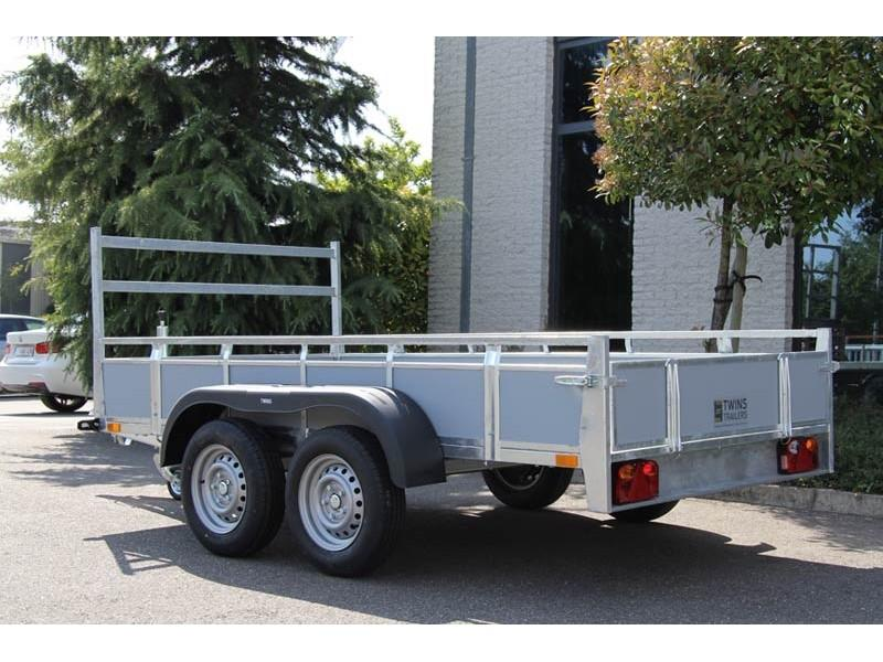 Twins trailers Bakwagen Betonplex