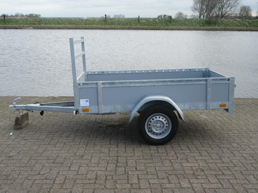 Twins trailers Bakwagen aliminium Enkele as