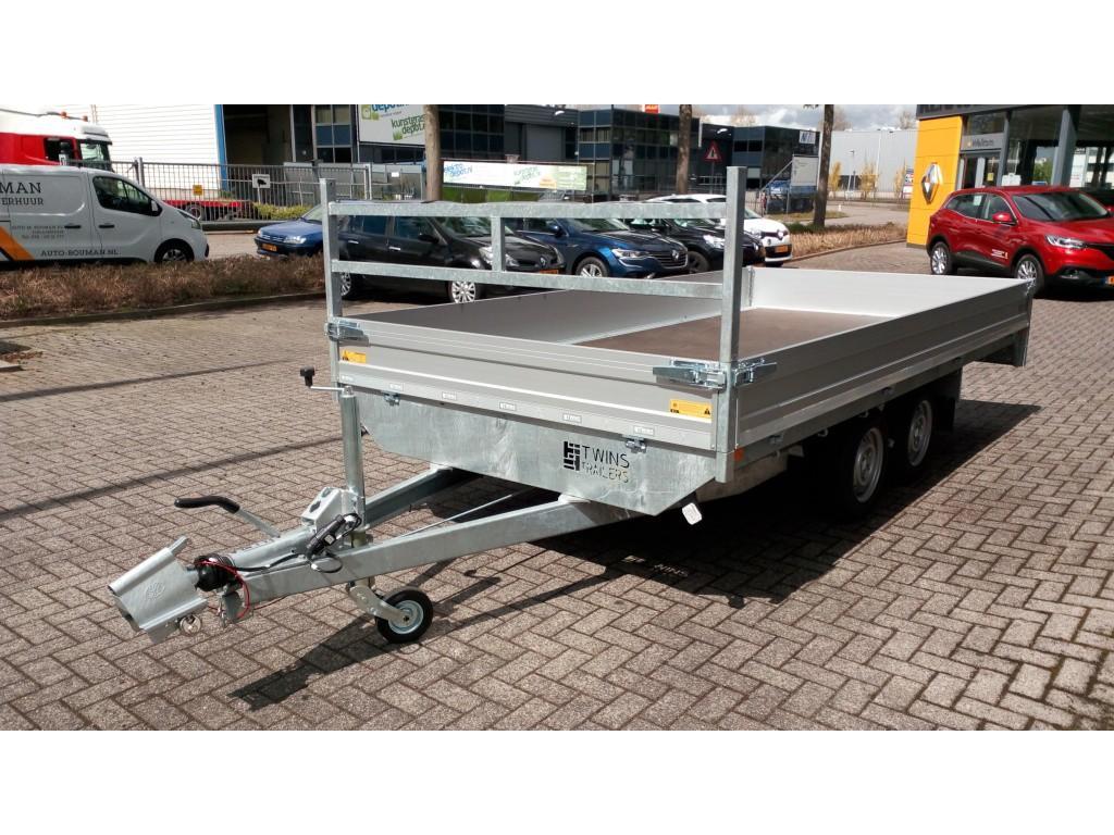 Twins trailers Plateauwagen Aluminium