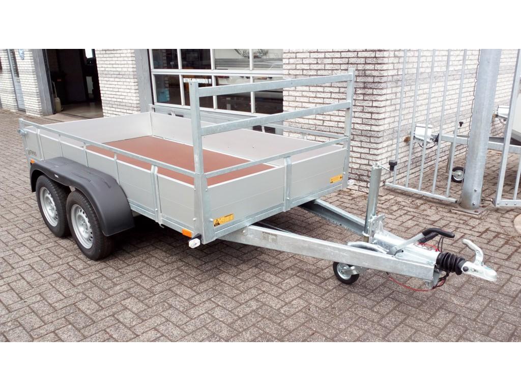 Twins trailers Bakwagen Aluminium