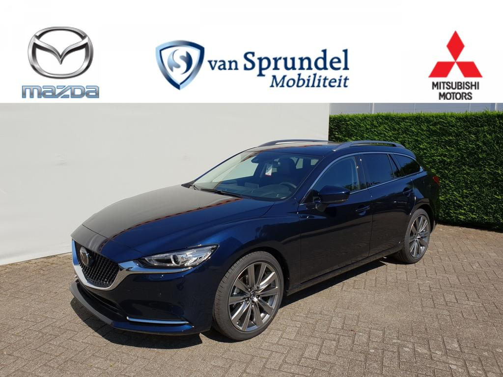 Mazda 6 Sportbreak 2.0 skyactiv-g aut aesthetic choice & black leather choice