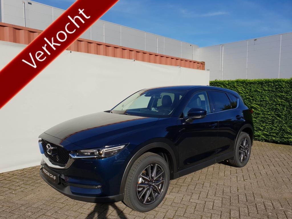 Mazda Cx-5 2.0 skyactiv 165 pk aut skylease luxury *€ 3.335,- voordeel *