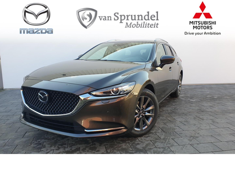 Mazda 6 Sportbreak 2.0 automaat business comfort choice. leder / bose * €1.485,- voorraadvoordeel*