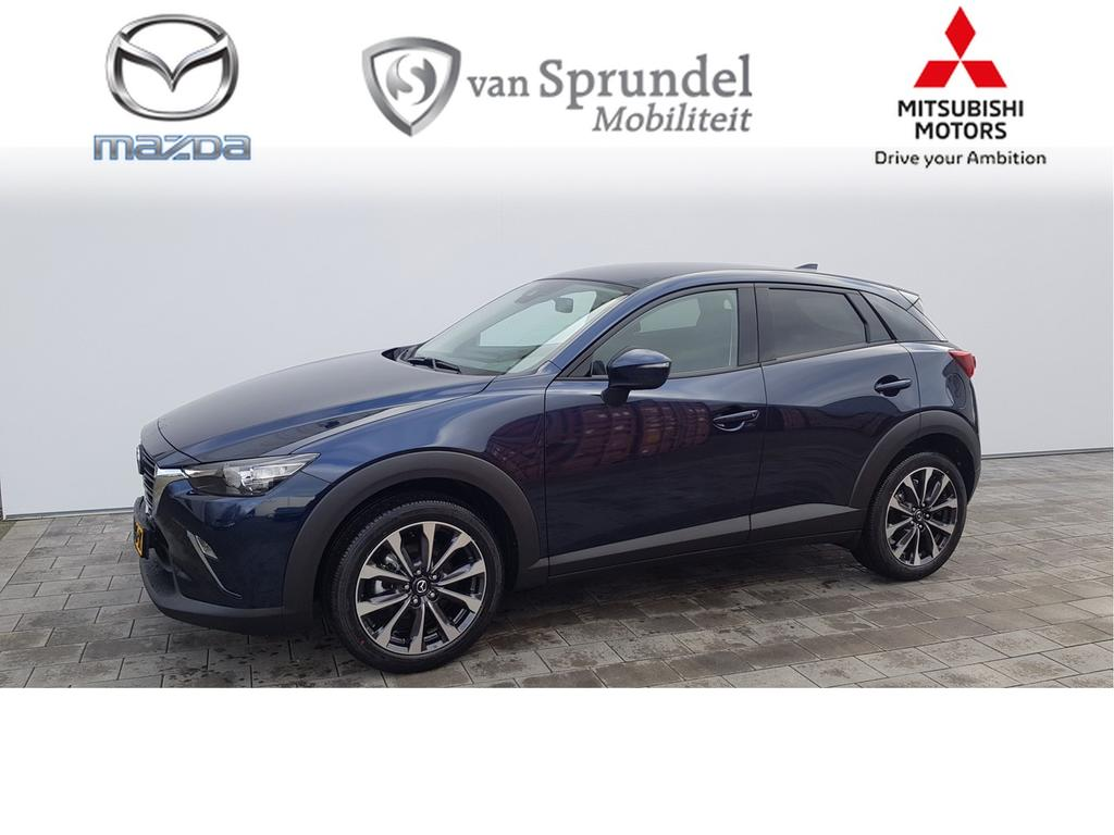 Mazda Cx-3 2.0 skyactiv-g 120 sport selected