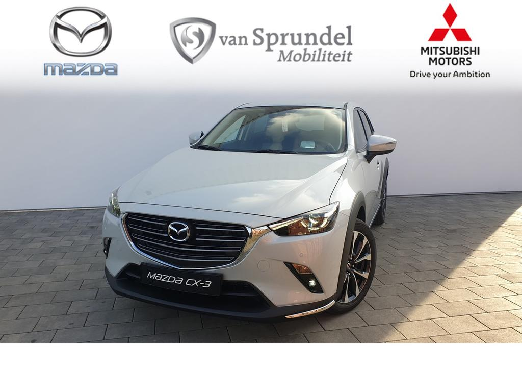 Mazda Cx-3 2.0 120pk aut skylease gt black leather pack .