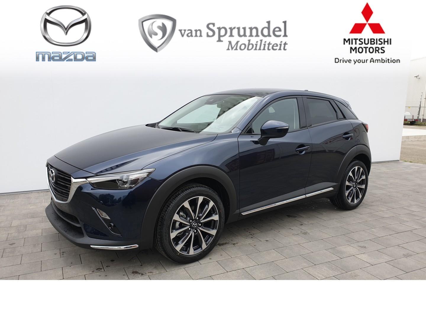 Mazda Cx-3 2.0 skyactiv-g 120 skylease gt leather pack