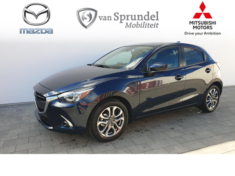 Mazda 2 1.5 skyactiv-g skylease gt zwart leder