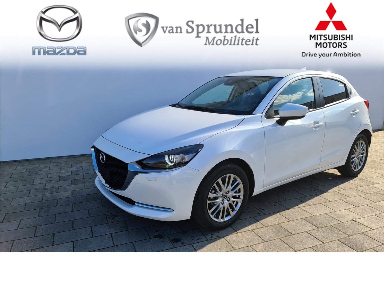 Mazda 2 1.5 skyactiv-g luxury + i-active sense pakket € 1.237,- voorraadvoordeel