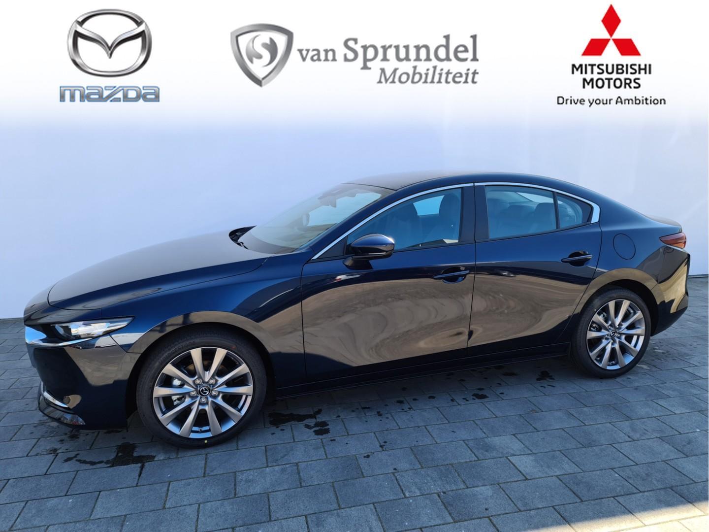 Mazda 3 2.0 skyactiv-x comfort + bose+leder +18 inch velgen