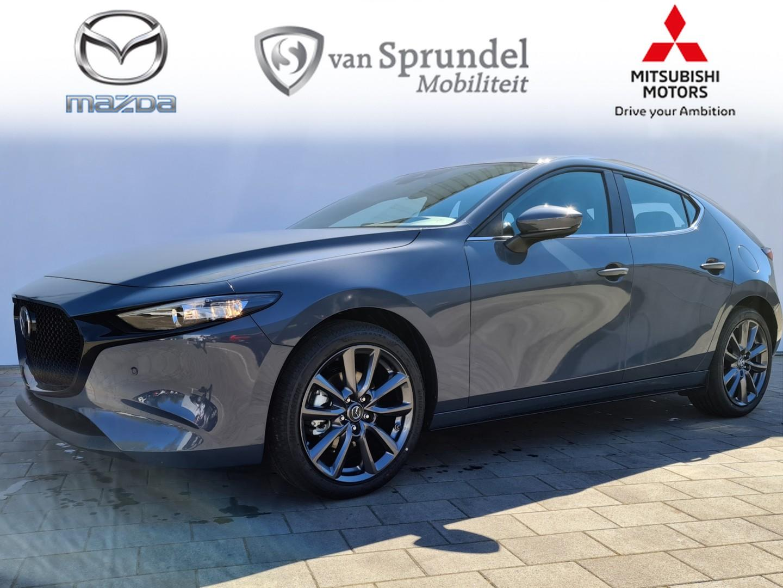 Mazda 3 2.0 skyactiv-x comfort +bose+ leder+ 18 inch velgen