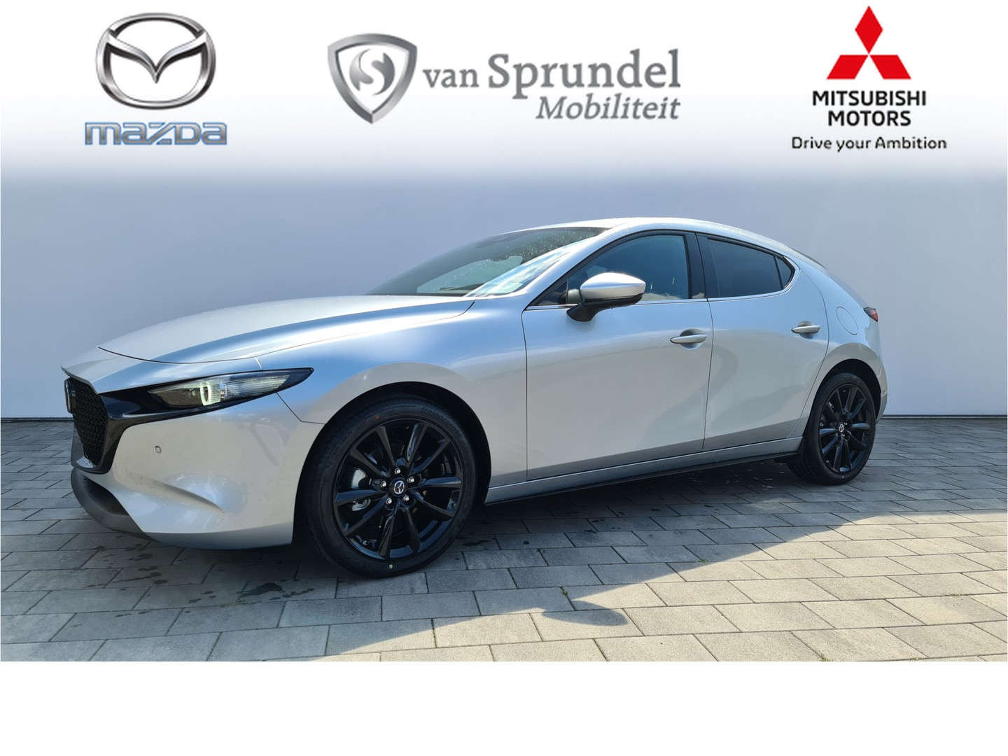 Mazda 3 2.0 skyactiv-x luxury + i-active sense pack * €3987,- netto deal voordeel*