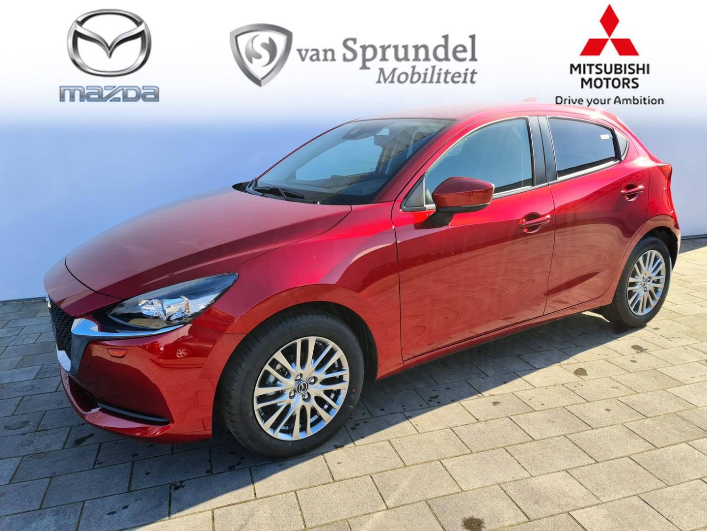 Mazda 2 1.5 skyactiv-g style selected € 4.087,- voordeel