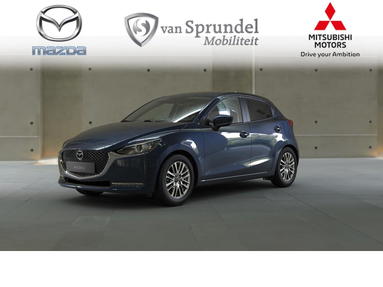 Mazda 2 1.5 skyactiv-g style selected €1.537,- voorraadvoordeel!