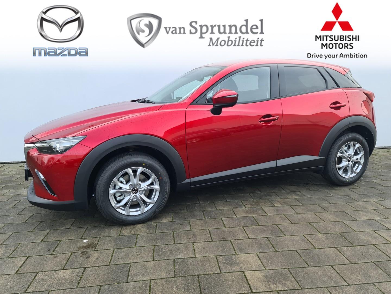 Mazda Cx-3 2.0 skyactiv-g 121 comfort automaat €4.500,- voorraad + bpm voordeel