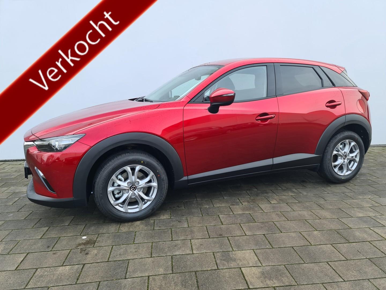 Mazda Cx-3 2.0 skyactiv-g 121 comfort € 3.540,- voorraad + bpm voordeel