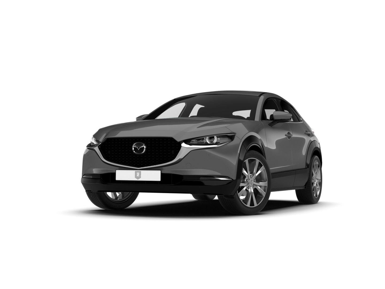 Mazda Cx-30 Luxury zwart lederen interieur