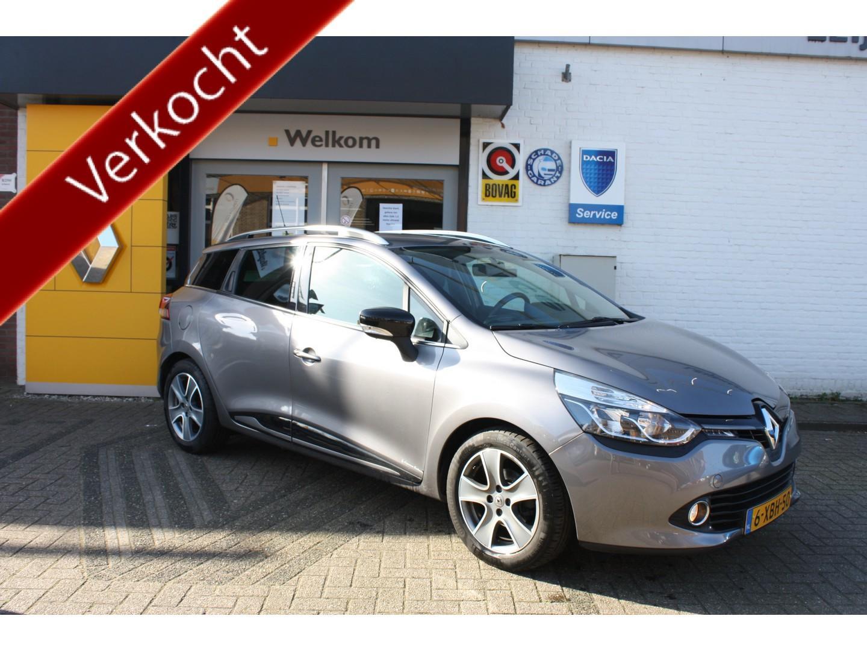 Renault Clio Iv estate tce 90 night&day + trekhaak, nl auto, dealer onderh.