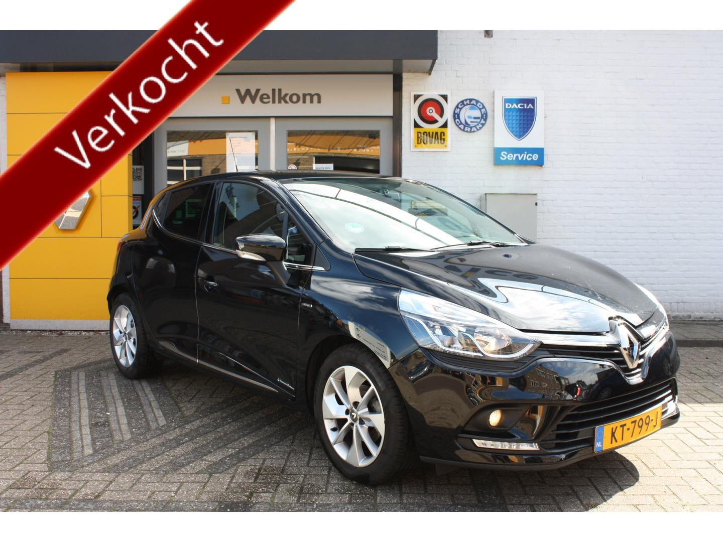 Renault Clio Iv hb tce 90 limited, navi + airco + pdc, nl auto