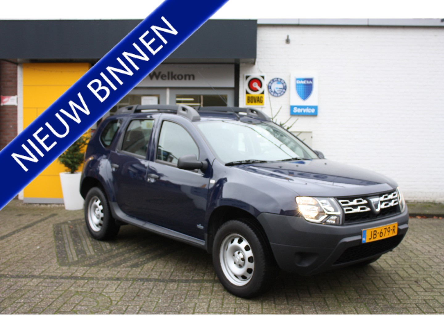 Dacia Duster 1.2 tce 4x2 ambiance + airco + trekhaak