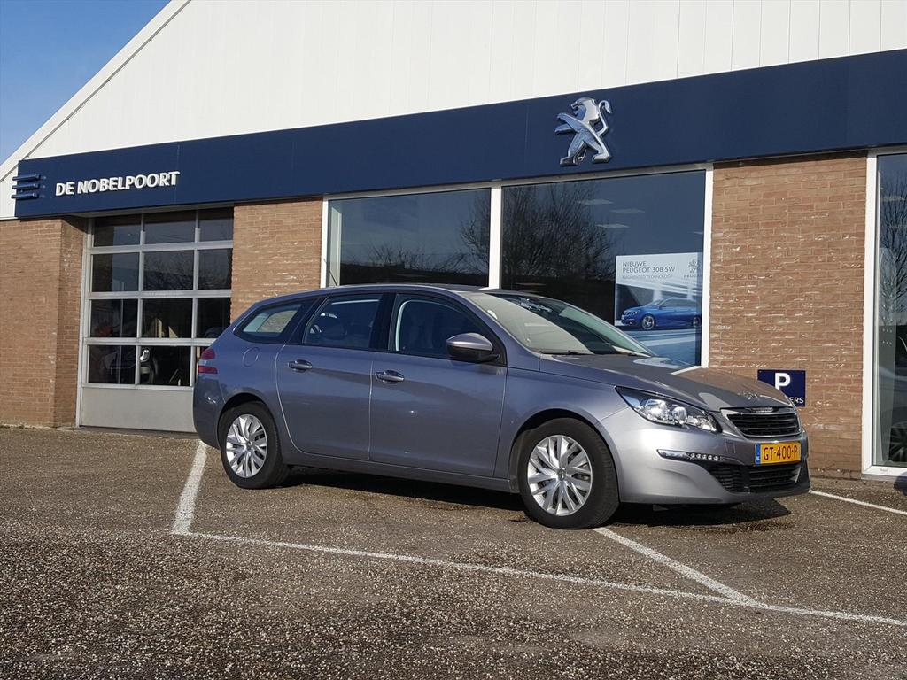 Peugeot 308 Blue lease 1.2turbo-110pk 20%bytelling airco navi bluetooth