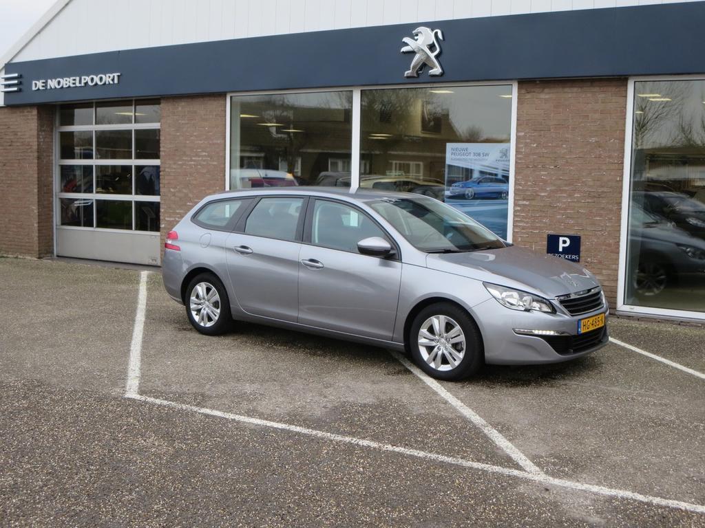 Peugeot 308 Blue lease 1.6hdi-120pk navi bluetooth