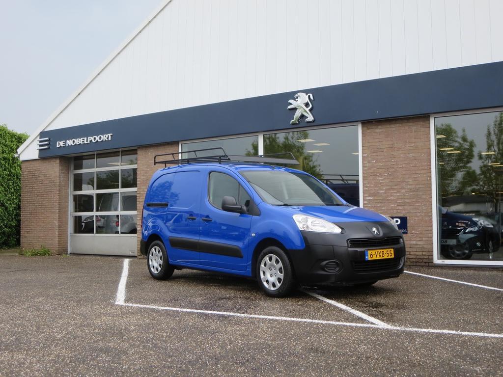 Peugeot Partner Xt 1.6hdi-90pk l1 airco dubbele laadvloer+laden,imperiaal, airco