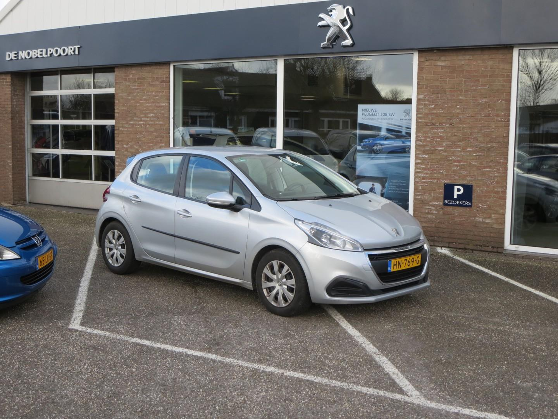 Peugeot 208 Active 1.6 bluehdi 100pk 5d trekhaak navigatie cruise control airco bluetooth topzuinig!!