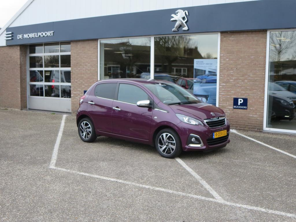 Peugeot 108 1.0i-12v 68pk premiere 5d airco/bluetoot/lm-velgen