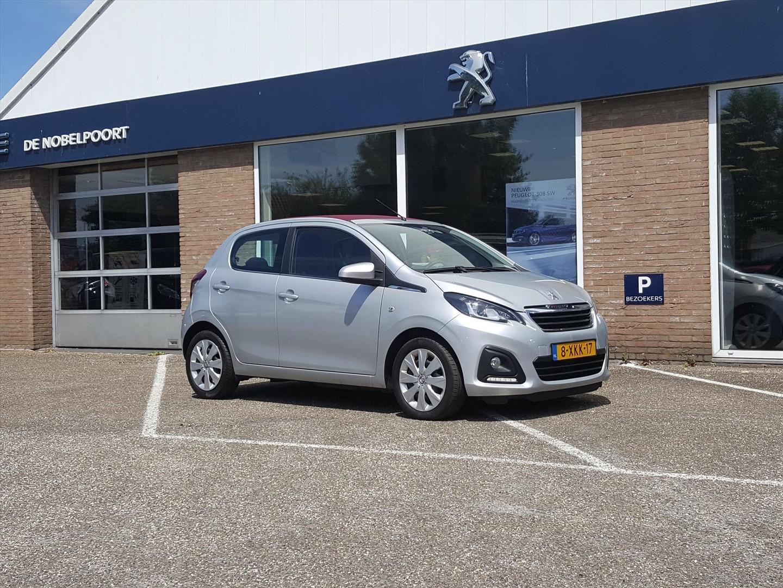 Peugeot 108 Top! active 1.0 evti 68pk 5d el.vouwdak rouge,airco,bluetooth