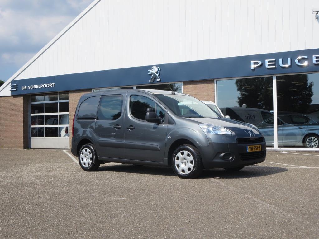 Peugeot Partner Xt 120 l1-1.6hdi-16v 75pk 2-zits navi,2zydeuren,bluetooth, compl