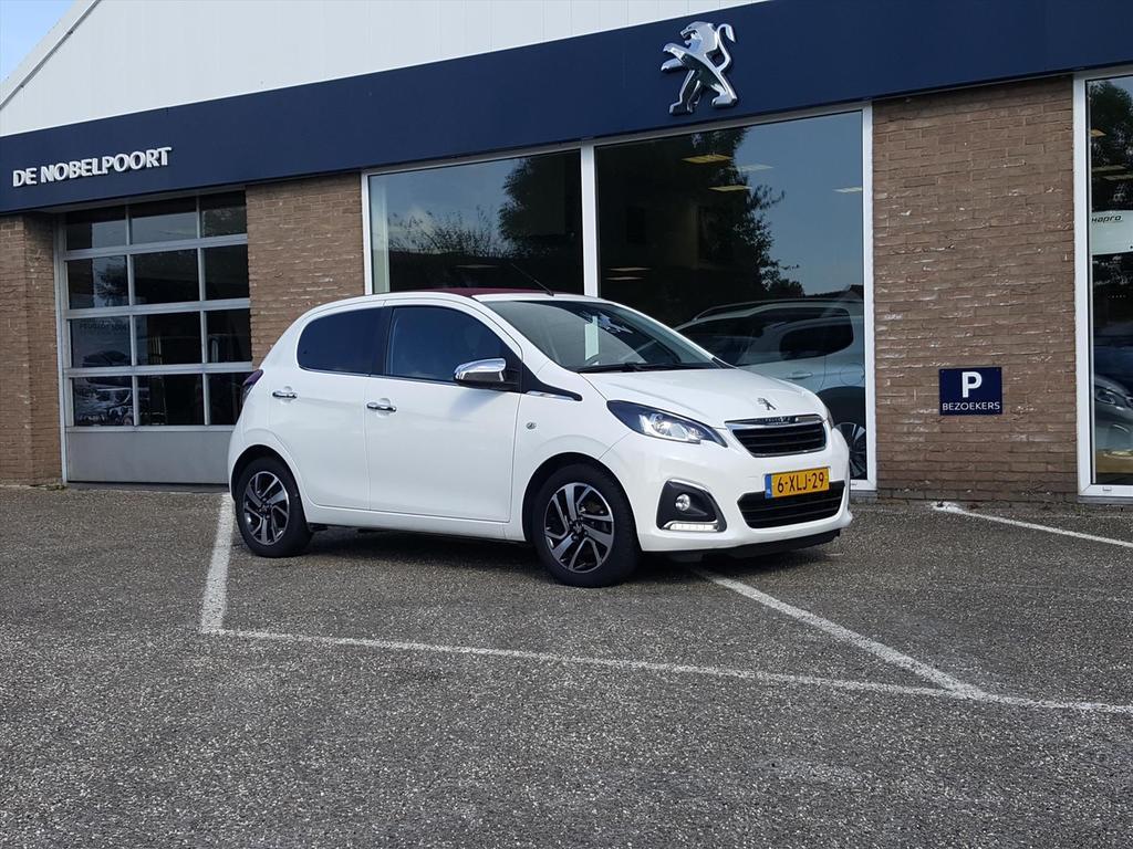 Peugeot 108 1.0-12v 68pk 5d allure climate/lm velgen