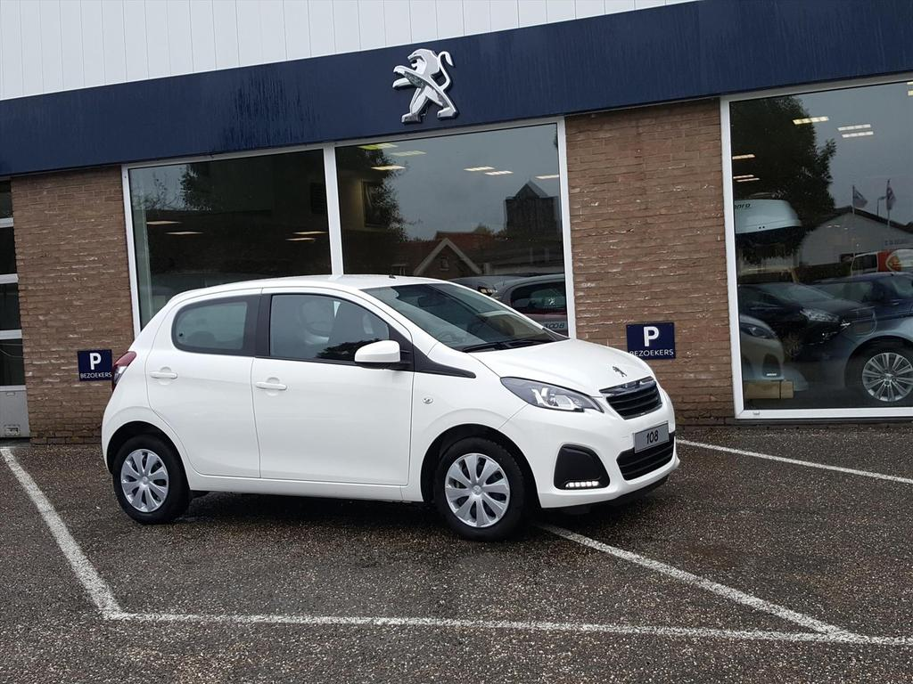Peugeot 108 1.0 5d active pack premium airco bluetooth