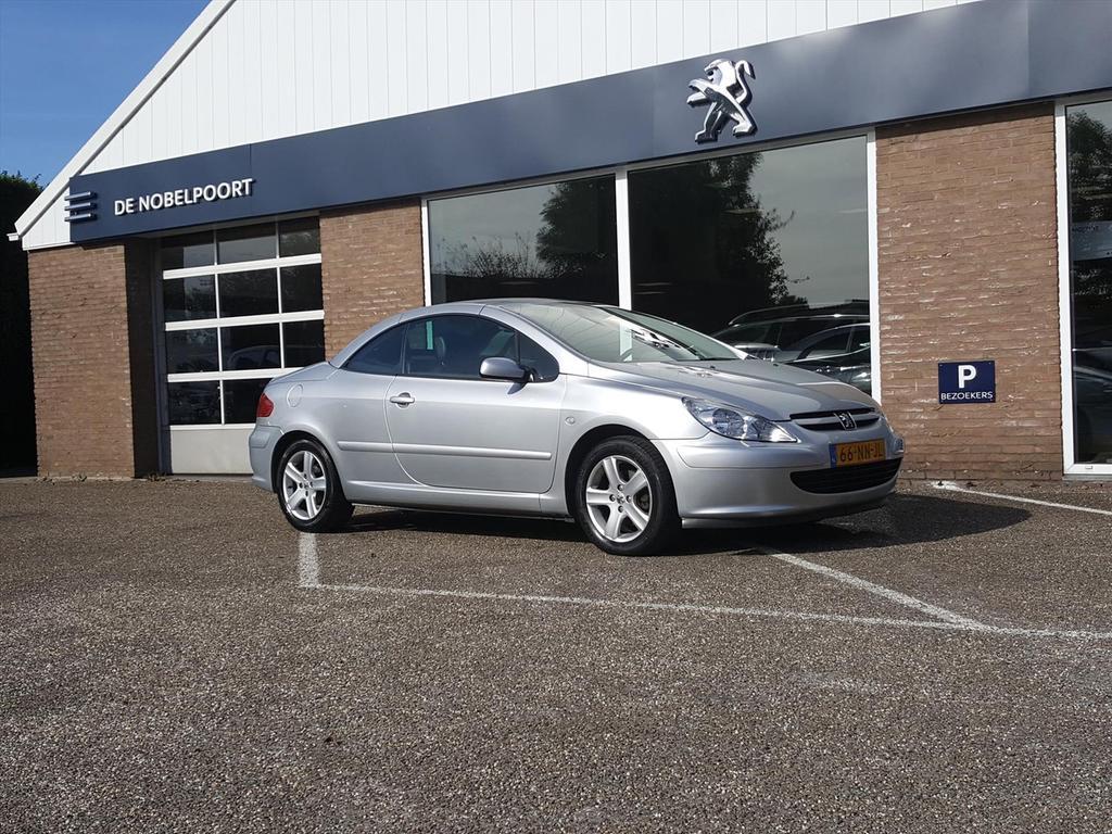 Peugeot 307 Cc 2.0-16v cabriolet leer climate & cruise control lmv-16''