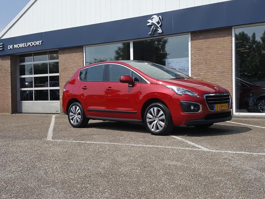 Peugeot 3008 1.6 active thp automaat parkeercamera navi trekhaak pano-dak