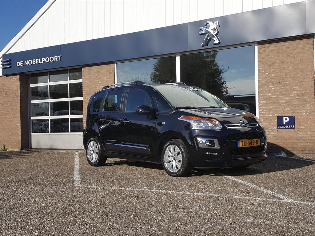 Citroën C3 picasso Exclusive 1.2pt-110pk parkhulp/lmvelgen/dakrails/bluetooth
