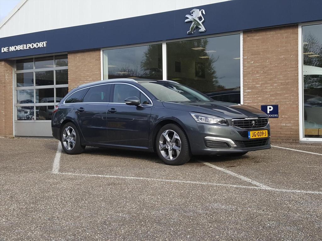 Peugeot 508 1.6 e-thp 165pk blue lease executive navi/cl.&cr. control