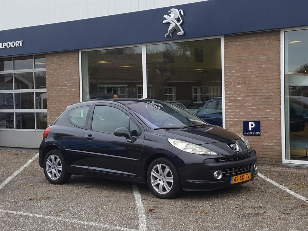 Peugeot 207 1.6 vti 16v 3drs xs climate control/panoramadak