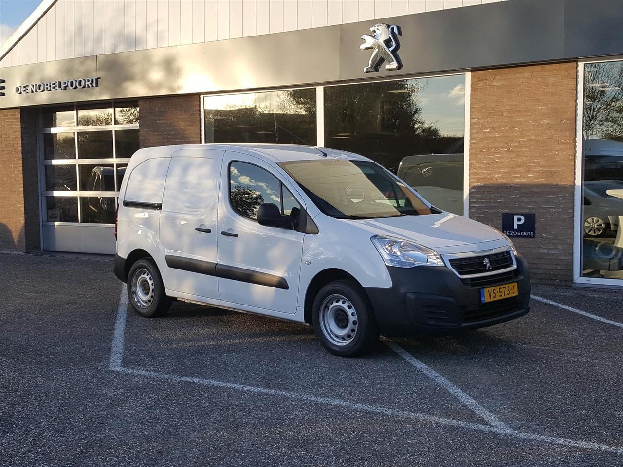 Peugeot Partner Gb 120 l1 xt 1.6 hdi-75pk 2-zits airco,cd&betimmering