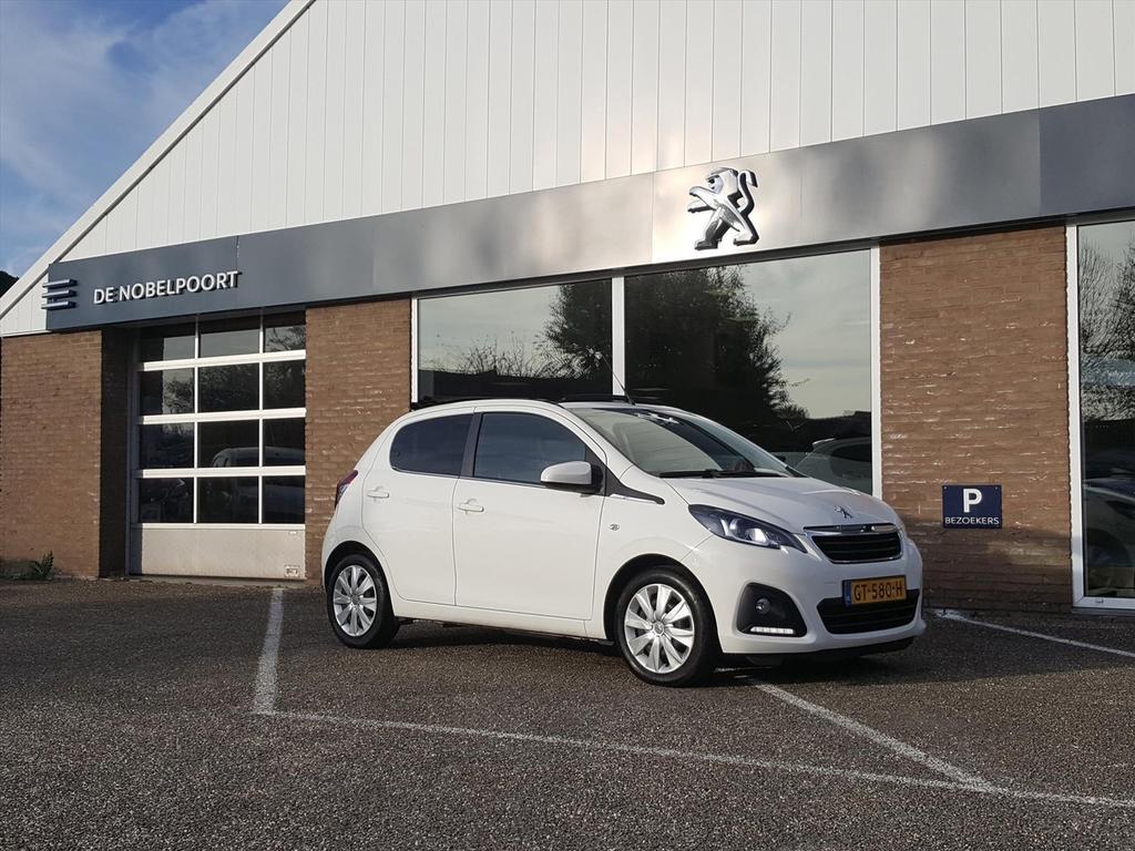 Peugeot 108 1.0 e-vti 68pk 5d top! active vouwdak radio bluetooth