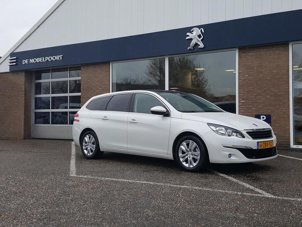 Peugeot 308 1.6 bluehdi-120pk blue lease executive 14% navi/bluetooth/lmvelg