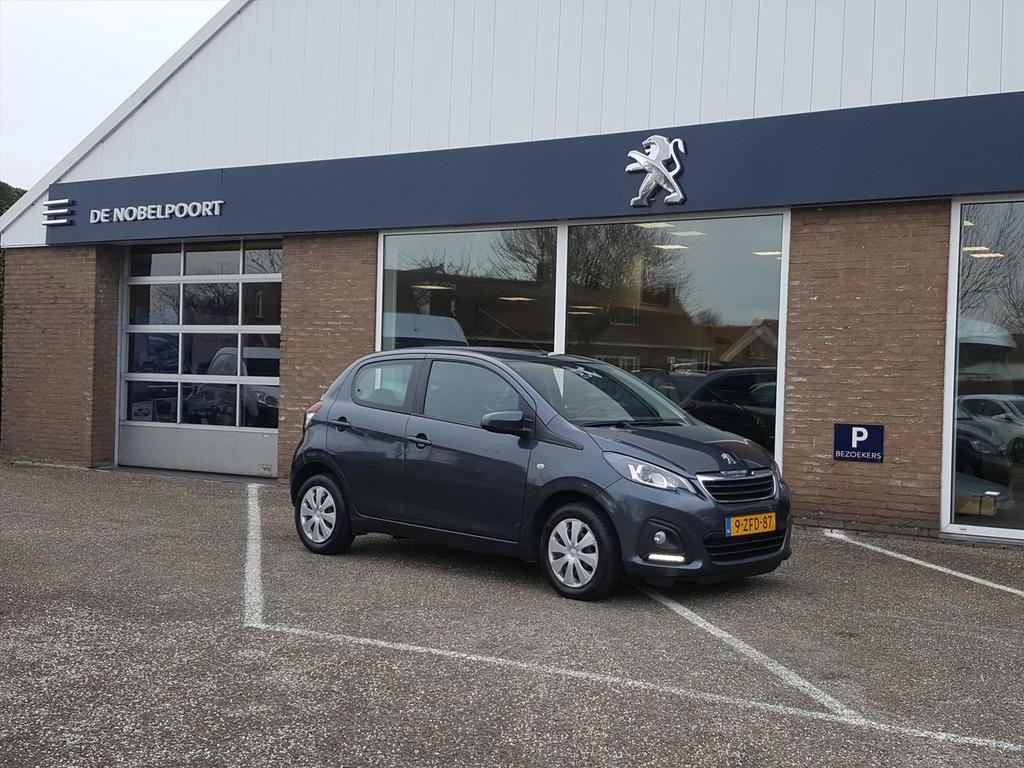 Peugeot 108 1.0 12v e-vti 68pk 5dr airco bluetooth elektr ramen