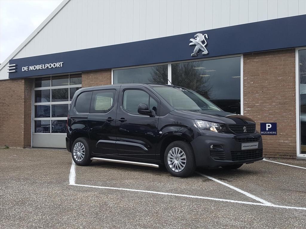 Peugeot Partner New premium1.6bluehdi-75pk 650kg 2-zits airco/packlook,navi/sidebars