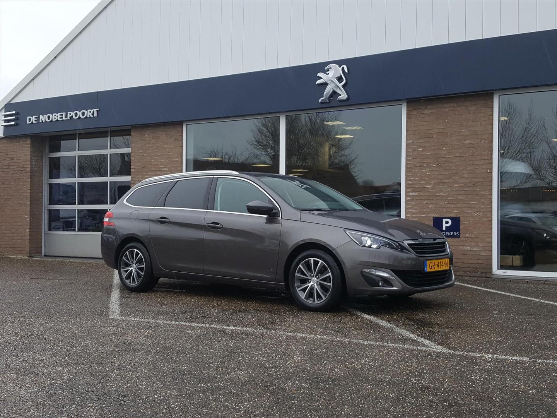 Peugeot 308 Sw blue l.premium 1.2pt-130pk navi/bluetooth/16ilmv/climate/panodak