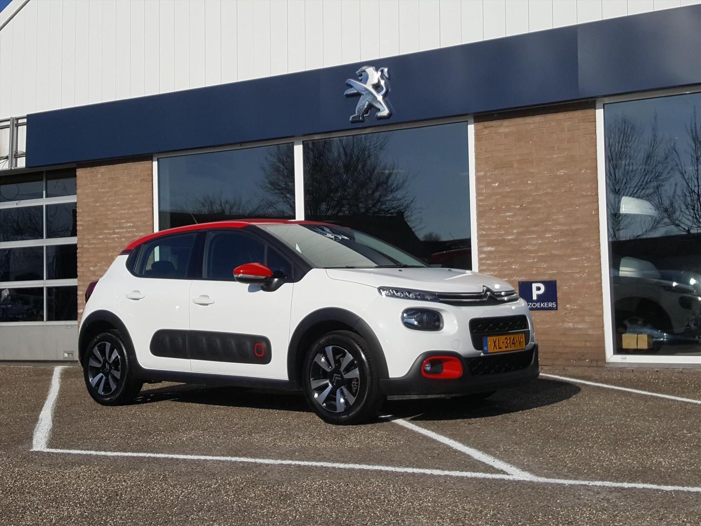 Citroën C3 1.2 pt-82pk shine navi/climate/parkeersensoren/lm-velgen